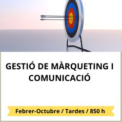 Gestió de màrqueting i comunicació
