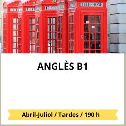 Programes formatius en llengua anglesa B1