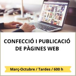 Confecció i publicacióde pàgines web