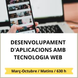 Desenvolupament d'aplicacions  amb tecnologia web