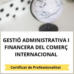 Gestió administrativa i financera del comerç internacional