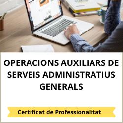 Operacions auxiliars de serveis administratius