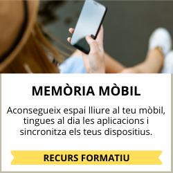 no et quedis sense memòria al mòbil