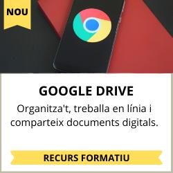 organitzar i compartir documents digitals: google drive