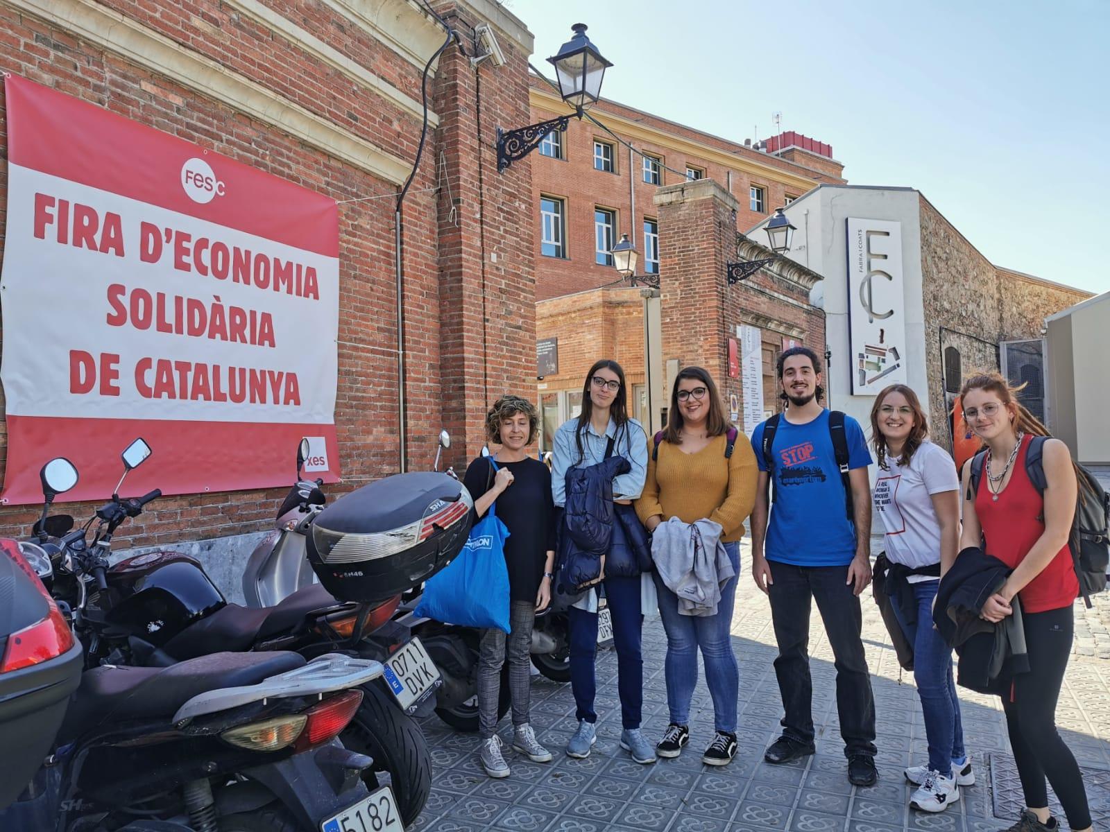 La Cooperativa de Joves i el Programa d'ESS, a la Fira d'Economia Solidària