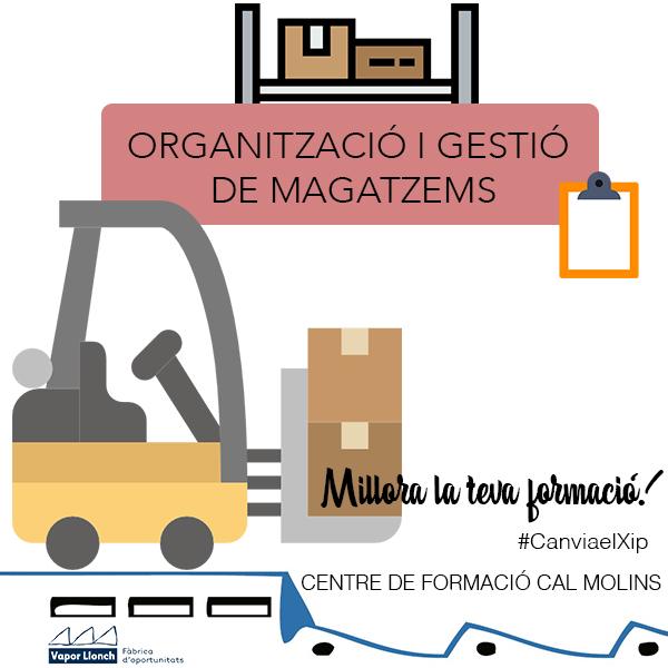 Formació Ocupacional - Curs d'Organització i Gestió de Magatzems