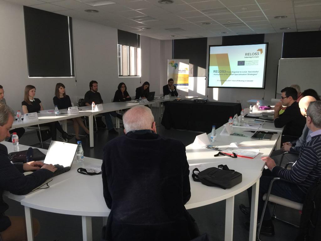 Primera trobada del projecte europeu RELOS3