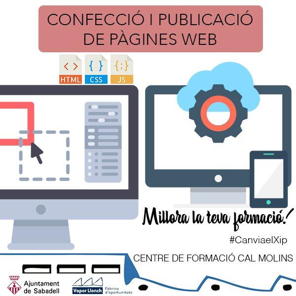 Curs de confecció i publicació de pàgines web
