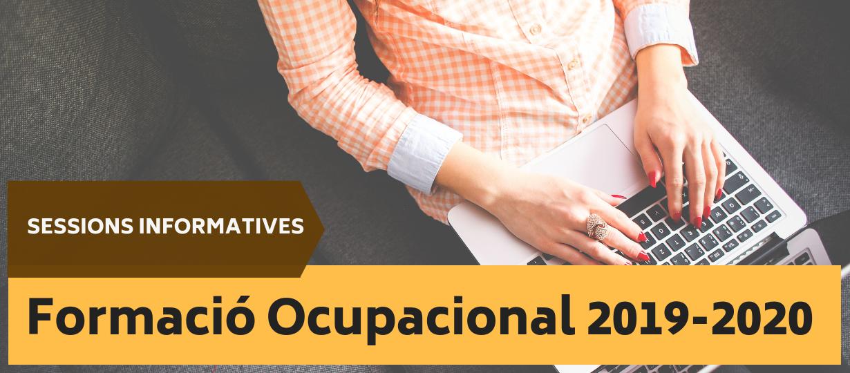Formació ocupacional 2019-20