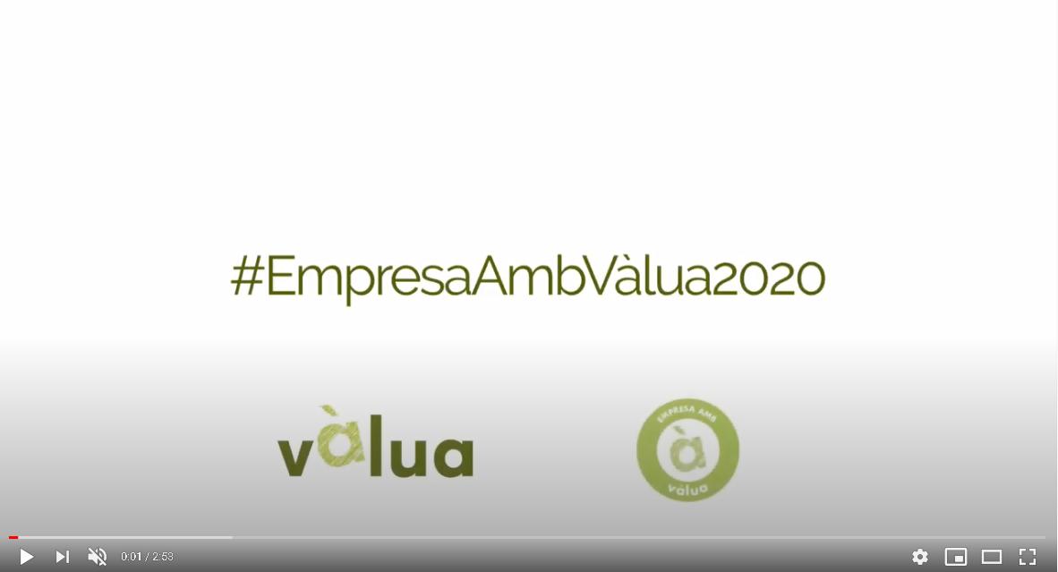 empresa amb Vàlua 2020